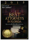 Best Attorneys in Florda 2015(3)