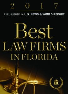 Best Law Firms in Florida 2018