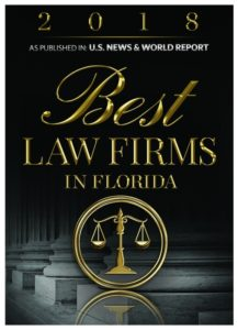 Best Law Firms in Florida 2017