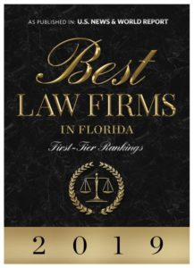 Best Law Firms in Florida 2019